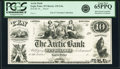 Eagle Point, WI- Arctic Bank $10 18__ G4a Krause 4a Proof PCGS Gem New 65PPQ