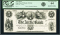 Eagle Point, WI- Arctic Bank $5 18__ G2a Krause G2a Proof PCGS Very Choice New 64