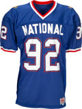 Football Collectibles:Others, 1994 Reggie White Game Worn Pro Bowl Jersey & Pants Photo Matched - His First Pro Bowl as a Packer! ...