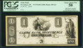 Obsoletes By State:Rhode Island, Providence, RI- Globe Bank $1 18__ G4 Durand 1336 Proof PCGS Choice About New 58.. ...
