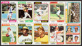 Baseball Cards:Sets, 1974 Topps Baseball High Grade Complete Set (660) With Traded Set (44). ...