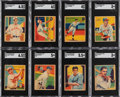 Baseball Cards:Sets, 1934-36 Diamond Stars Baseball Partial Low Number Set (48/96). ...