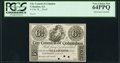 Obsoletes By State:Georgia, Columbus, GA- City Council of Columbus 6-1/4¢ 18__ Proof PCGS Very Choice New 64PPQ.. ...