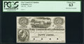 Obsoletes By State:Georgia, Columbus, GA- City Council of Columbus 50¢ 18__ Proof PCGS Choice New 63.. ...