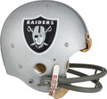 Football Collectibles:Helmets, Late 1970's Cliff Branch Game Worn Oakland Raiders Helmet....