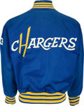 Football Collectibles:Uniforms, 1960's Steve Tensi Game Worn San Diego Chargers Sideline Jacket....