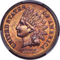 1877 1C MS64 Red and Brown PCGS....(PCGS# 2128)