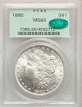 Morgan Dollars: , 1880 $1 MS65 PCGS. CAC. PCGS Population: (1324/213). NGC Census: (702/43). CDN: $425 Whsle. Bid for NGC/PCGS MS65. Mintage ...