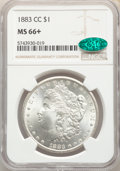 1883-CC $1 MS66+ NGC. CAC. NGC Census: (1027/135). PCGS Population: (2465/249). CDN: $530 Whsle. Bid for NGC/PCGS MS66...