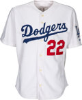 Baseball Collectibles:Uniforms, 2000 Los Angeles Dodgers Game Worn Jersey from The Devon White Collection. ...