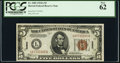 Small Size:World War II Emergency Notes, Fr. 2302 $5 1934A Hawaii Federal Reserve Note. PCGS New 62.. ...