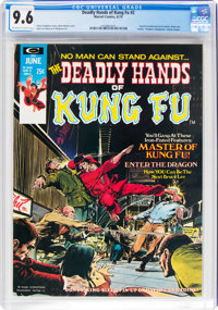 The Deadly Hands of Kung Fu #2 (Marvel, 1974) CGC NM+ 9.6 Off-white to white pages