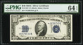 Small Size:Silver Certificates, Fr. 1704* $10 1934C Silver Certificate Star. PMG Choice Uncirculated 64 EPQ.. ...