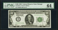 Fr. 2150-G $100 1928 Federal Reserve Note. PMG Choice Uncirculated 64
