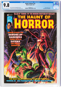 The Haunt of Horror #5 (Marvel, 1975) CGC NM/MT 9.8 Off-white to white pages