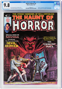 The Haunt of Horror #2 (Marvel, 1974) CGC NM/MT 9.8 Off-white to white pages