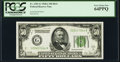 Fr. 2101-G $50 1928A Dark Green Seal Federal Reserve Note. PCGS Very Choice New 64PPQ