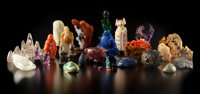 A Cabinet of Curiosities: Twenty-Nine Small and Miniature Carvings from Three Continents and Various Eras, from Antiquit...