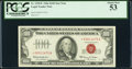 Small Size:Legal Tender Notes, Fr. 1550* $100 1966 Legal Tender Star Note. PCGS About New 53.. ...