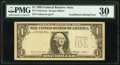 Error Notes:Missing Third Printing, Missing Third Printing Error Fr. 1913-? $1 1985 Federal Reserve Note. PMG Very Fine 30.. ...