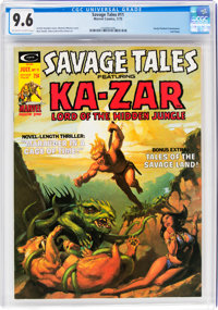 Savage Tales #11 (Marvel, 1975) CGC NM+ 9.6 Off-white to white pages