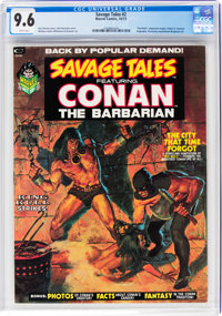 Savage Tales #2 (Marvel, 1973) CGC NM+ 9.6 White pages