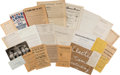 Political:Small Paper (1896-present), Woman's Suffrage: Handouts And Letters....