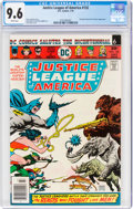 Bronze Age (1970-1979):Superhero, Justice League of America #132 (DC, 1976) CGC NM+ 9.6 White pages....