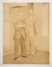 Houdini And Theodore Roosevelt Photograph June 23, 1914