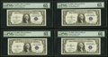 Small Size:Silver Certificates, Fr. 1612 $1 1935C Silver Certificates. Four Consecutive Examples. PMG Graded Gem Uncirculated 65-EPQ-66 EPQ.. ... (Total: 4 notes)