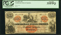 Confederate Notes:1861 Issues, T19 $20 1861 Cr. 137 PCGS Very Fine 35PPQ.. ...