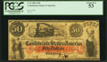 Confederate Notes:1861 Issues, T15 $50 1861 Cr. 79 PCGS About New 53.. ...