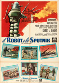 "Movie Posters:Science Fiction, The Invisible Boy (MGM, 1958). Folded, Very Fine-. Italian 2 - Fogli (39"" X 55""). . ..."