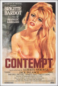 """Movie Posters:Foreign, Le Mepris (Canal, R-2000s). Rolled, Very Fine+. One Sheet (27"""" X 40"""") Gilbert Allard Artwork. Alternate Title: Con..."""