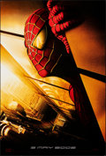 "Movie Posters:Action, Spider-Man (Columbia, 2002). Rolled, Very Fine+. One Sheet (26.75"" X 39.75"") SS Advance, Withdrawn Twin Towers Style. Action..."