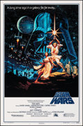 "Movie Posters:Science Fiction, Star Wars (Killian Enterprises, R-1992). Rolled, Very Fine. 15th Anniversary One Sheet (27"" X 41"") SS, Style B, Greg and Tim..."