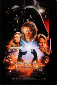 """Star Wars: Episode III - Revenge of the Sith (20th Century Fox, 2005). Rolled, Very Fine-. One Sheet (27"""" X 40""""..."""