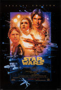 """Movie Posters:Science Fiction, Star Wars (20th Century Fox, R-1997). Rolled, Very Fine/Near Mint. Special Edition One Sheet (27"""" X 39.75"""") SS Advance, Styl..."""