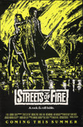 """Movie Posters:Action, Streets of Fire (Universal, 1984). Rolled, Very Fine-. One Sheet (27"""" X 41"""") SS Advance Green Style. Action.. ..."""