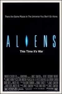 "Aliens (20th Century Fox, 1986). Rolled, Very Fine. One Sheet (27"" X 41"") SS. Science Fiction"