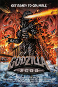 """Movie Posters:Science Fiction, Godzilla 2000 (Tri-Star, 2000). Rolled, Very Fine. One Sheet (26.75"""" X 39.75""""). Science Fiction.. ..."""