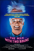 "Movie Posters:Comedy, The Man with Two Brains & Other Lot (Warner Bros., 1983). Rolled, Overall: Very Fine. One Sheet (27"" X 41""). Comedy."