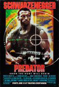 """Movie Posters:Science Fiction, Predator (20th Century Fox, 1987). Rolled, Very Fine-. One Sheet (27"""" X 40"""") SS Advance. Science Fiction.. ..."""