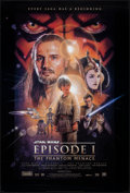 "Movie Posters:Science Fiction, Star Wars: Episode I - The Phantom Menace (20th Century Fox, 1999). Rolled, Very Fine+. One Sheet (26.75"" X 39.75"") SS Style..."