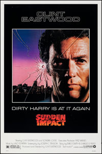 """Sudden Impact & Other Lot (Warner Bros., 1983). Rolled, Very Fine-. One Sheets (2) (27"""" X 41""""). Action..."""