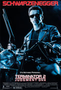 """Movie Posters:Science Fiction, Terminator 2: Judgment Day (Tri-Star, 1991). Rolled, Very Fine+. One Sheet (26.75"""" X 39.75"""") SS. Science Fiction.. ..."""