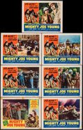 """Movie Posters:Horror, Mighty Joe Young (RKO, 1949/R-1953). Overall: Fine/Very Fine. Lobby Cards (7) (11"""" X 14""""). Gene Widhoff Border Artwork. Horr... (Total: 7 Items)"""