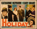 "Movie Posters:Comedy, Holiday (Columbia, 1938). Fine+. Lobby Card (11"" X 14""). Comedy.. ..."