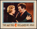 "Movie Posters:Drama, The Man Who Reclaimed His Head (Universal, 1934). Very Fine+. Lobby Card (11"" X 14""). Drama.. ..."