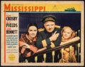 """Movie Posters:Comedy, Mississippi (Paramount, 1935). Fine+. Lobby Card (11"""" X 14""""). Comedy.. ..."""